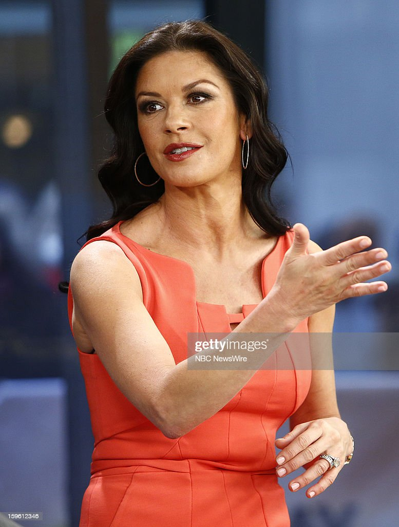 Catherine Zeta-Jones appears on NBC News' 'Today' show --
