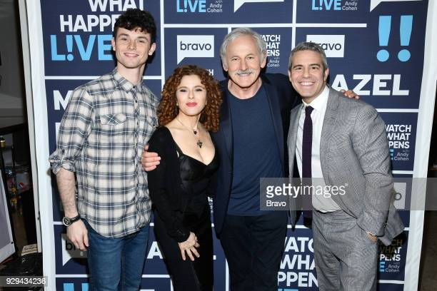 Charlie Stemp Bernadette Peters Victor Garber and Andy Cohen