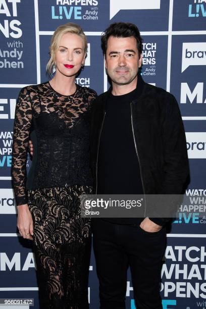 Charlize Theron and Ron Livingston