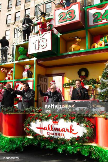 Chicago on the Heartwarming Holiday Countdown float from the Hallmark Channel at the 93rd Macy's Thanksgiving Day Parade in New York City on Thursday...