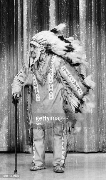 Chief Red Fox of the Oglala Lakota Sioux tribe on September 10th 1971