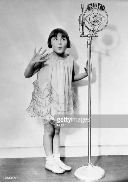 Child actress/singer Baby Rose Marie in 1928