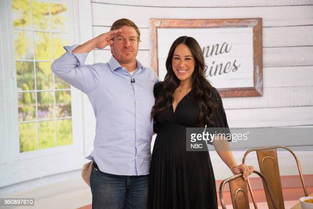 Chip and Joanna Gaines on Tuesday April 24 2018