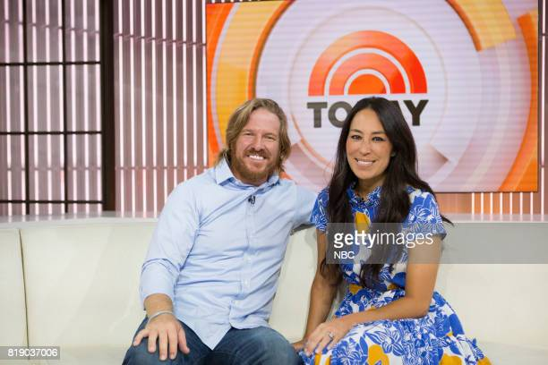 Chip and Joanna Gaines on Tuesday, July 18, 2017 --