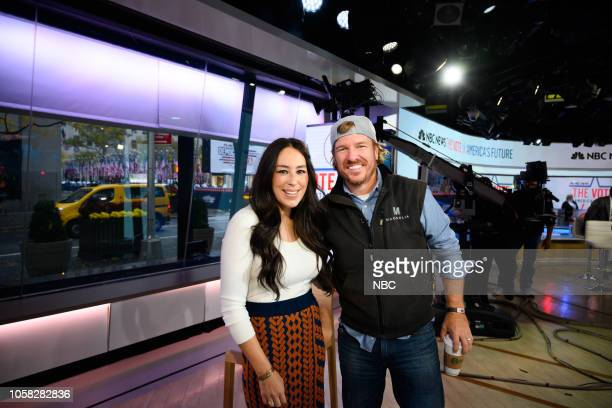 Chip and Joanna Gaines on Tuesday, November 6, 2018 --