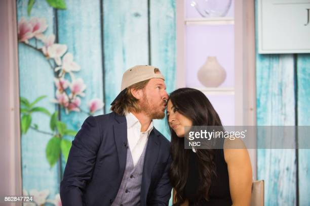 Chip and Joanna Gaines on Tuesday October 17 2017