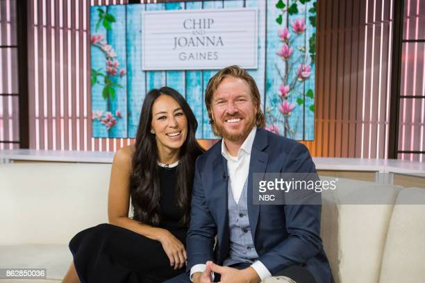 Chip and Joanna Gaines on Tuesday, October 17, 2017 --