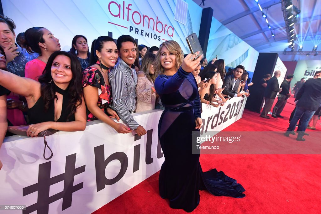 Chiquis Rivera on the Red Carpet at the Watsco Center in the University of Miami, Coral Gables, Florida on April 27, 2017 --