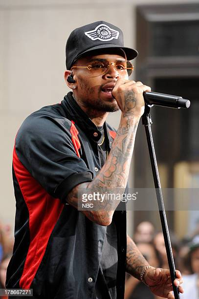 Chris Brown appears on NBC News' Today show
