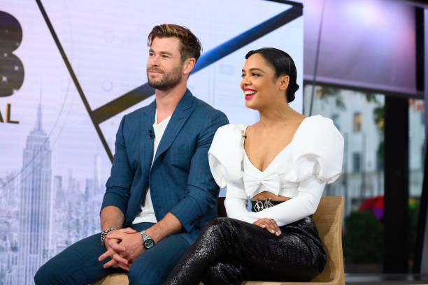 "NY: NBC's ""TODAY"" - Mariska Hargitay, Chris Hemsworth, Tessa Thompson, Mary Steenburgen, Jessie Buckley, Noah Kahan, Brandon Maxwell"