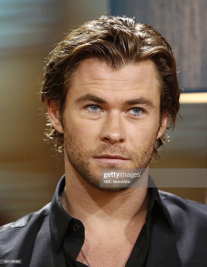 Chris Hemsworth appears on NBC News' 'Today' show --