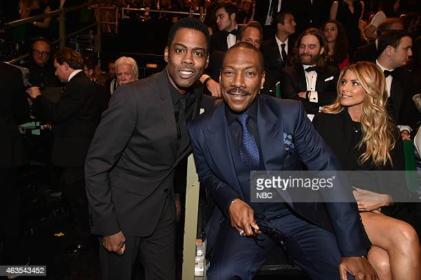 Chris Rock Eddie Murphy on February 15 2015