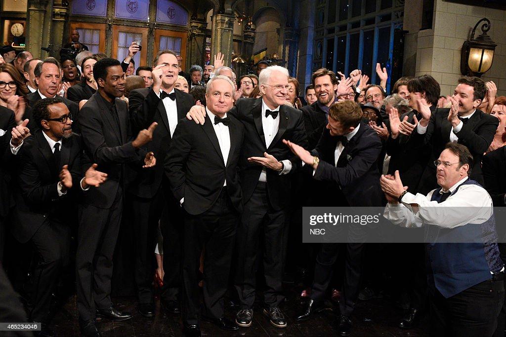 Saturday Night Live 40th Anniversary Special - Season 2015 : News Photo