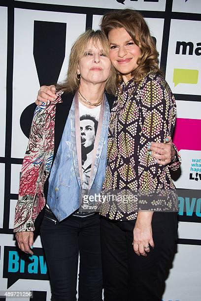 Chrissie Hynde and Sandra Bernhard