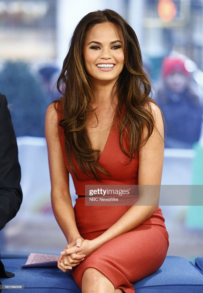 Chrissy Teigen appears on NBC News' 'Today' show --