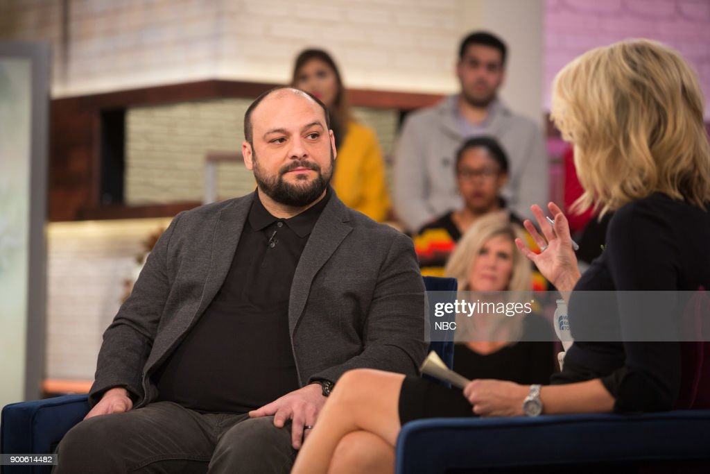 Christian Piccolini and Megyn Kelly on Tuesday, December 2, 2018 --
