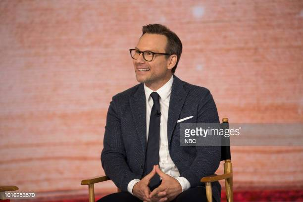 Christian Slater on Monday August 13 2018