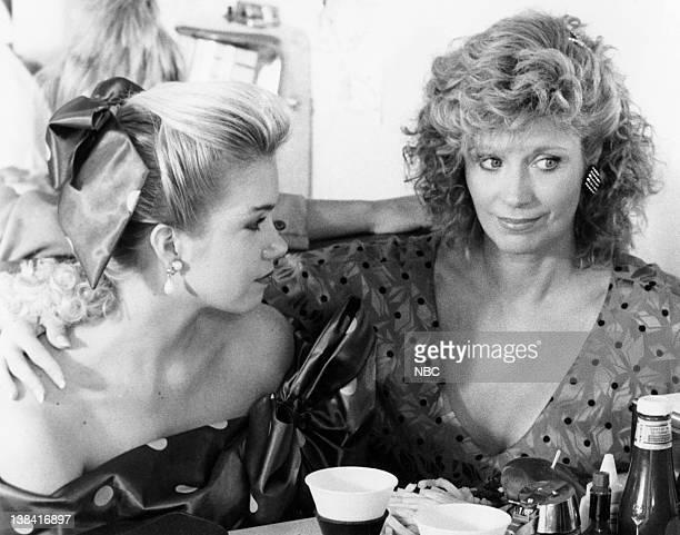 DANCE 'TIL DAWN Pictured Christina Applegate as Patrice Johnson Mary Frann as Nancy Johnson