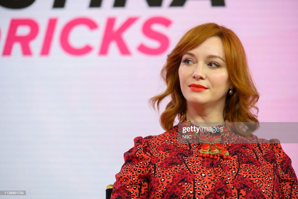 "NY: NBC's ""TODAY"" - Christina Hendricks, Guys Tell All, Misha Nonoo, Joy Bauer, Larry Johnson, Richard Jefferson"