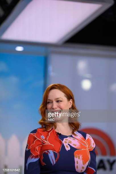 Christina Hendricks on Thursday February 13 2020