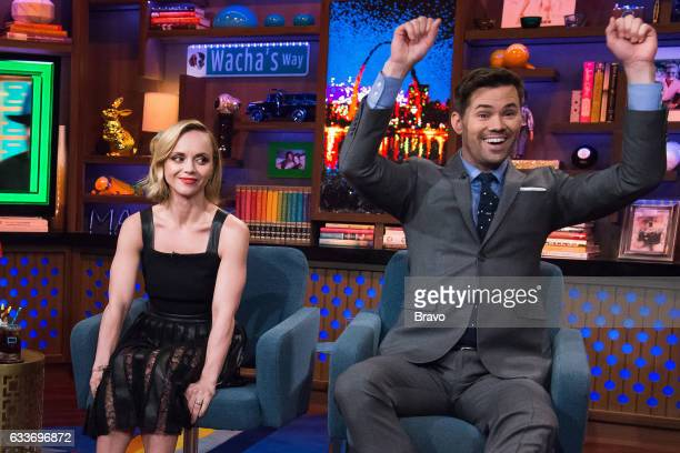Christina Ricci and Andrew Rannells