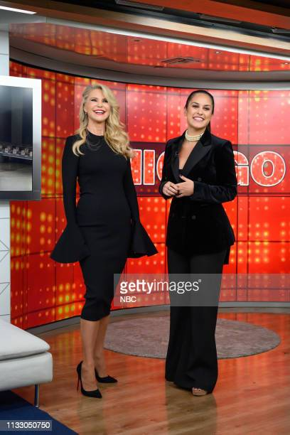 Christine Brinkley and Donna Farizan on Tuesday March 26 2019