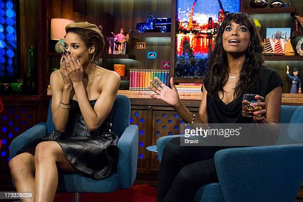 Ciara and Aisha Tyler Photo by Charles Sykes/Bravo/NBCU Photo Bank via Getty Images