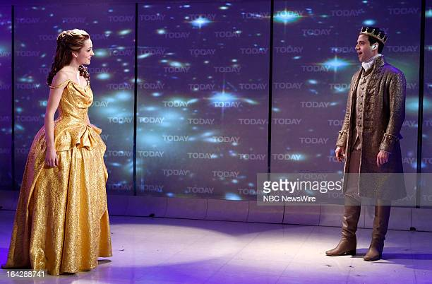 Cinderella's Laura Osnes and Santino Fontana appear on NBC News' 'Today' show on March 22 2013