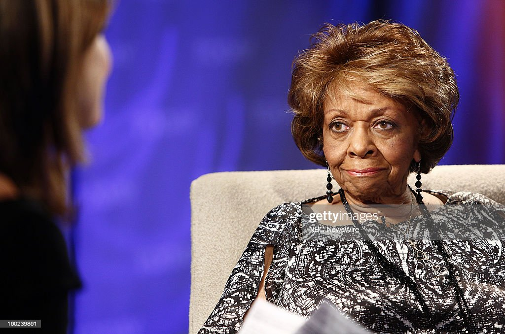 Cissy Houston appears on NBC News' 'Today' show --
