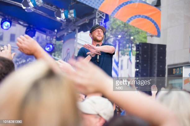 Cole Swindell on Friday August 17 2018