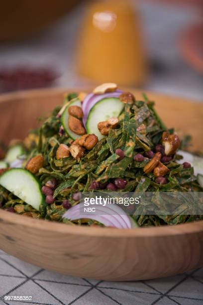 Collard Greens Salad with Coconut Dressing on Thursday July 12 2018