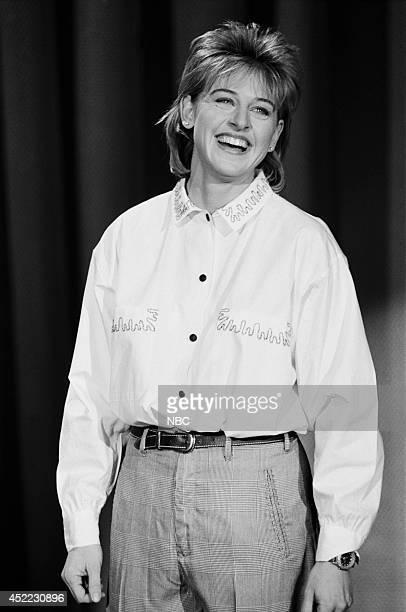 Comedian Ellen DeGeneres performs on January 14 1987