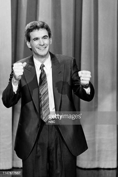Comedian Jack Gallagher performs on February 26 1986