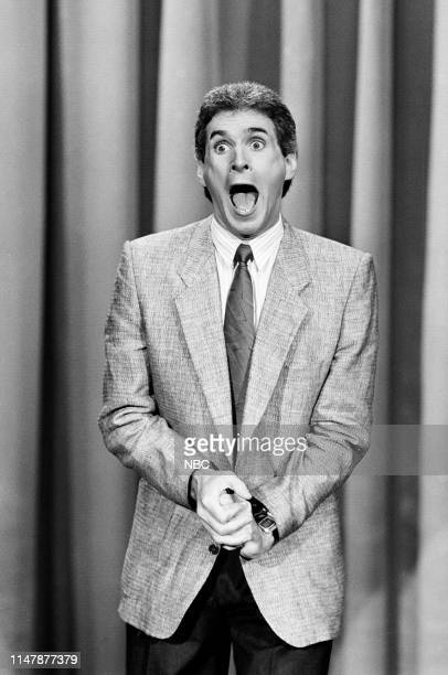 Comedian Jack Gallagher performs on November 26 1985