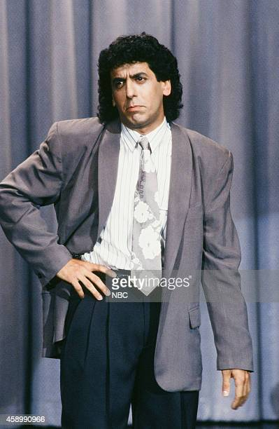 Comedian Jeff Cesario performs on May 17 1990