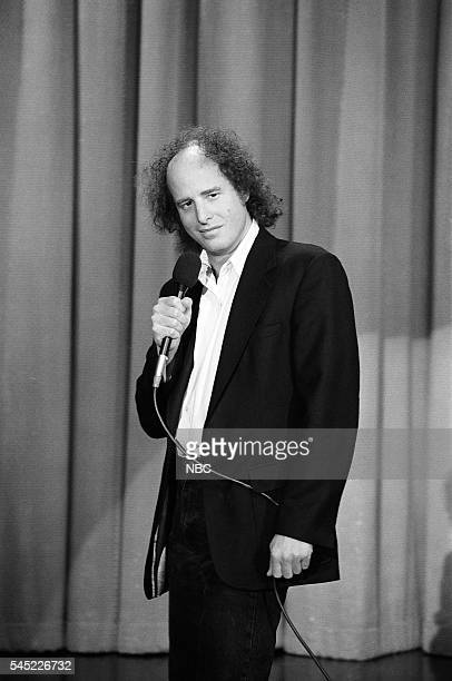 Comedian Steven Wright performs on May 8 1991