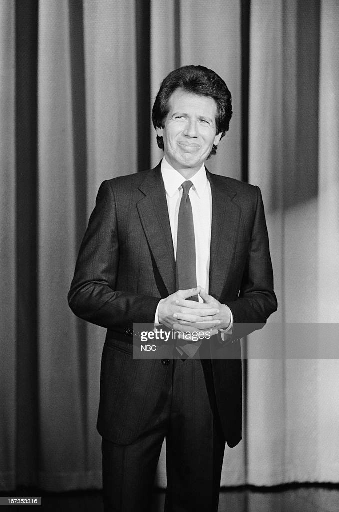 Comedian/actor Garry Shandling on September 28, 1983 --