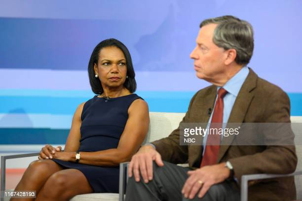 Condoleeza Rice and Philip Zelikow on Wednesday September 11 2019