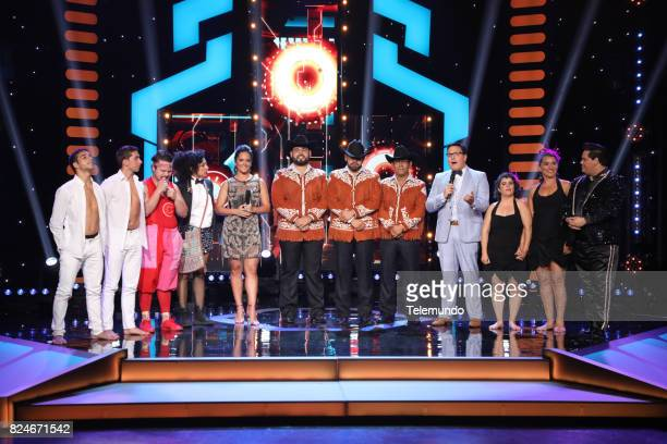 Contestants Alejandro y Marcos Ponce Jorge Iván Latorre Robles Emma Mayte Carballo Cohost Ana Lorena Sanchez Contestants Edgardo Alvarado Rodriguez...