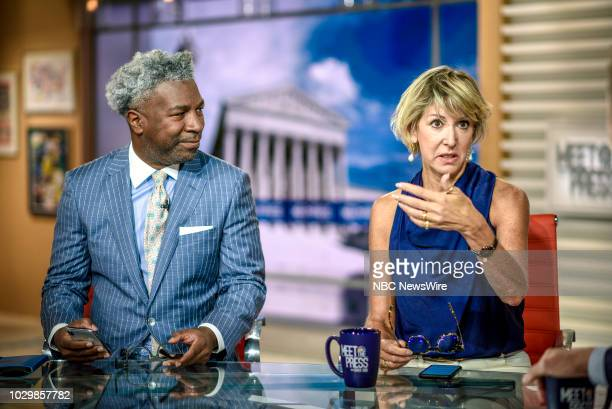 Cornell Belcher Democratic Pollster NBC News Political Analyst and Danielle Pletka SVP Foreign and Defense Policy Studies at the American Enterprise...