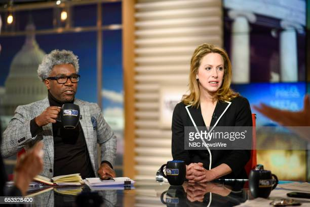 Cornell Belcher Democratic Pollster President of Brilliant Corners and Kimberley Strassel Columnist The Wall Street Journal appear on Meet the Press...