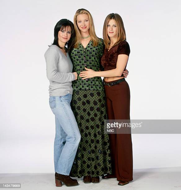 Courteney Cox Arquette as Monica Geller Jennifer Aniston as Rachel Green Lisa Kudrow as Phoebe Buffay