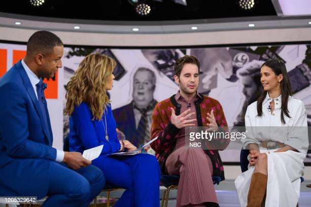 Craig Melvin Maria Shriver Ben Platt and Nina Dobrev on Thursday March 5 2020