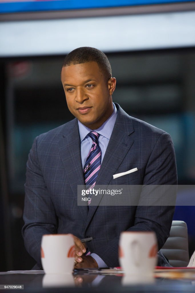 Craig Melvin on Monday, April 16, 2018 --