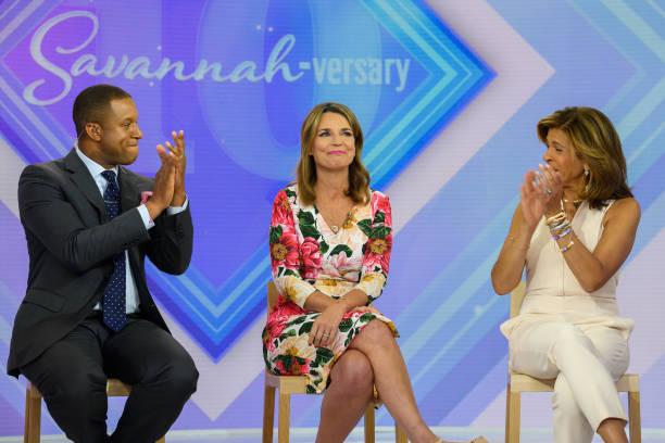 "NY: NBC's Today Show - ""Savannah Guthrie - 10 year anniversary"""
