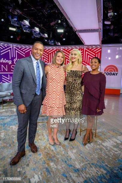 Craig Melvin Sheinelle Jones Dylan Dreyer and Gwen Stefani on Monday September 23 2019