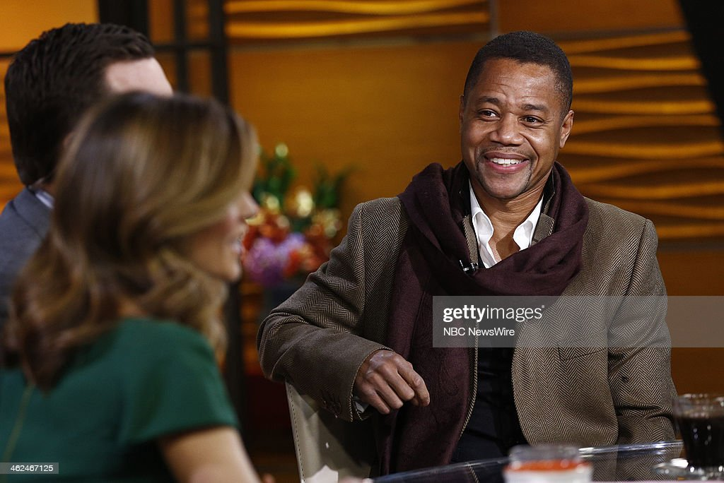 Cuba Gooding Jr. appears on NBC News' 'Today' show --