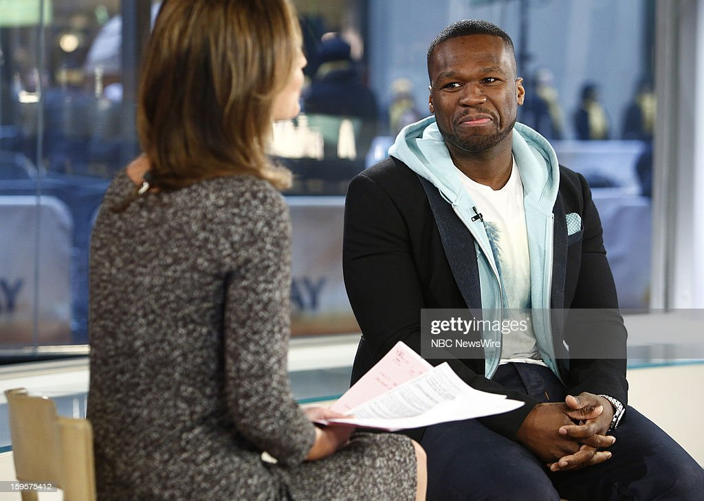 Curtis Jackson also known as '50 Cent' appears on NBC News' 'Today' show --