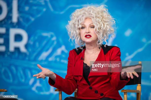 Cyndi Lauper on Tuesday December 4 2018