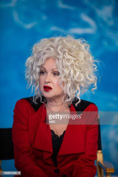 Cyndi Lauper on Tuesday December 4 2018